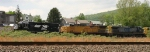 NS 5611, UP 7208, & CSX 390